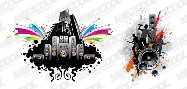 Music Vector Illustrations Download Free Vector Psd Flash