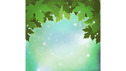 Fantasy background vector material green Indus