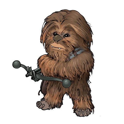 Star Wars Cartoon Version Of Super Icon Transparent Png