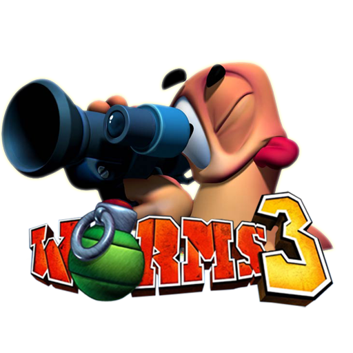Worms 3D Icon Png Download Free Vector,PSD,FLASH,JPG--www