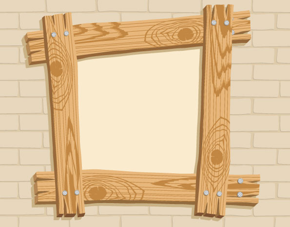 Wood Frame Clip Art