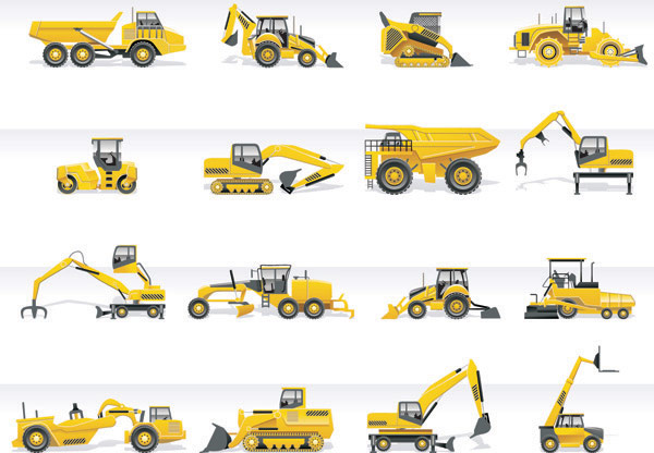 Heavy Vehicle Vector material -3