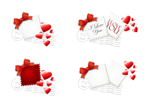 Love Stamp - Vector