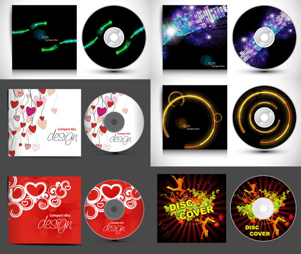 CD and gorgeous packaging - Vector