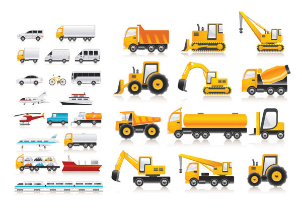 Variety of  transport vector material