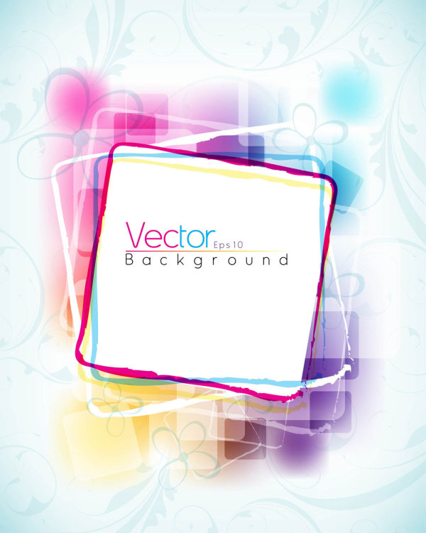 Symphony dynamic pattern background 02 - vector