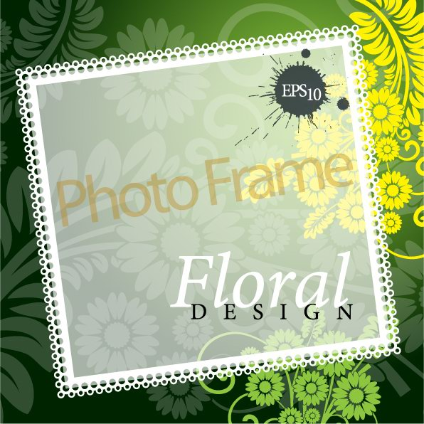 Fashion lines text design vector decorative material -1