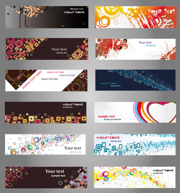 Quality card material 02 - vector
