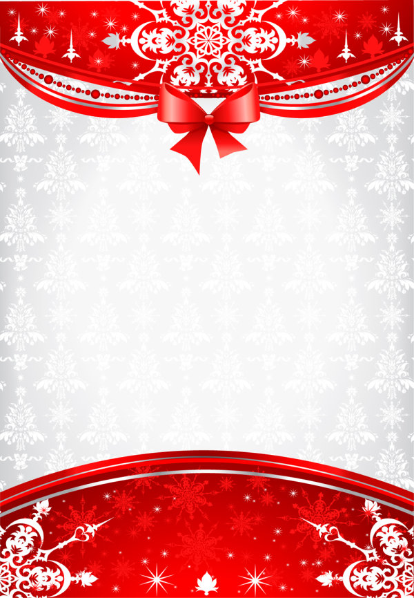 Christmas decorative material 01 - vector material