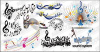 practical elements of music vector material