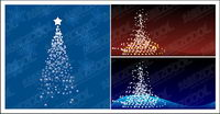 Flash Vector Christmas tree material