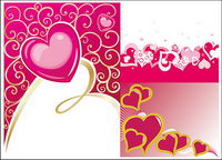 heart-shaped vector material