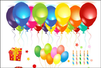 Birthday celebrations vector of material