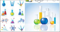 Chemical Products & Icons Vector