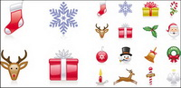 Christmas Icons - Vector