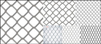 Barbed wire vector material
