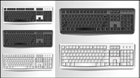 Computer Accessories 02-- vector material