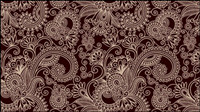 Two-party continuous pattern 03-- vector material