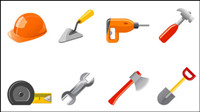 Commonly used tool icon - vector