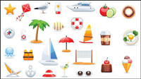 A variety of icon sets 02 - vector