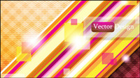 Dynamic flow line background 02 - vector material