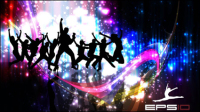 Colorful background dance 2 - vector material