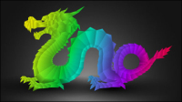 2012 Year of the Dragon Design 03 - vector material