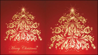 Festive gift material 03 - vector material