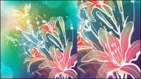 Gorgeous pattern background 03 - Vector