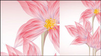 Exquisite flowers 02 - Vector