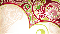 Exquisite pattern background - Vector