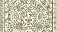 Mayan patterns 02 - vector material