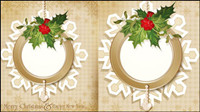 Christmas patterns 03 - vector material