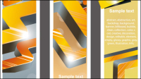 Trend bookmark card 02 - vector material