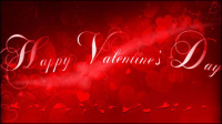 Beautiful valentine background 04 - vector material