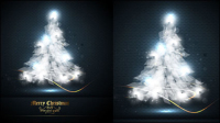 Beautifully Halo Christmas 01 - vector material
