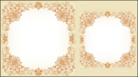 Exquisite pattern border 03 - vector material