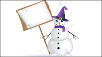 Winter Christmas material 05 - vector material