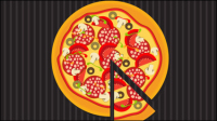 Pizza illustrator 03 - vector material