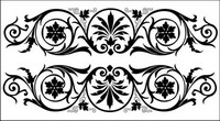 European-style lace Vector -3
