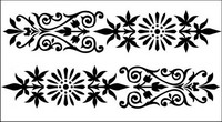 European-style lace Vector -1