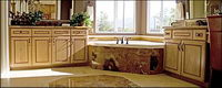 Continental classical style bathroom picture material