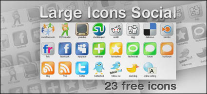 web2.0 Large Icons
