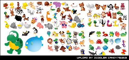 Taiwan vector animals Daquan vector material